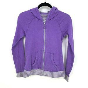 Ivivva Girls Full Zip Reversible Hooded Jacket